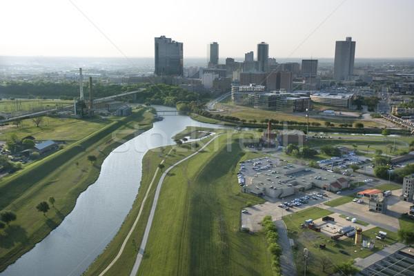Valeur Texas fort vue rivière Photo stock © iofoto