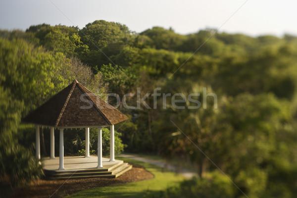 Gazebo in Park Stock photo © iofoto