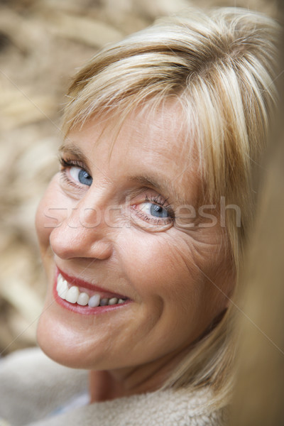 Caucasian woman. Stock photo © iofoto