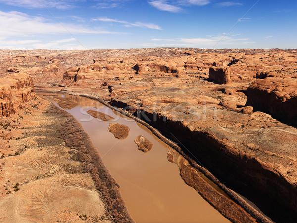 River in Canyonlands National Park, Utah. Stock photo © iofoto