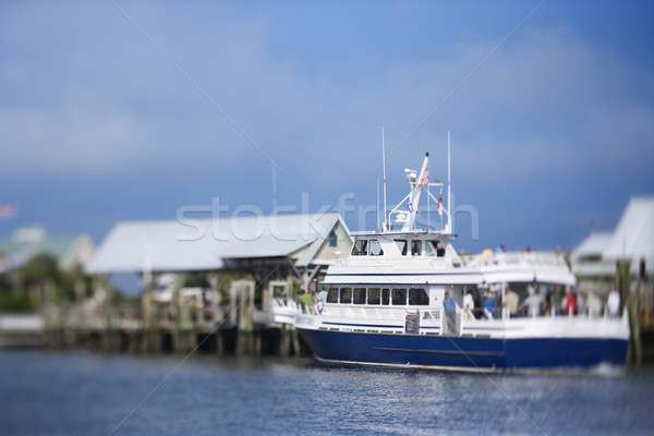 Ferry boat at dock. Stock photo © iofoto