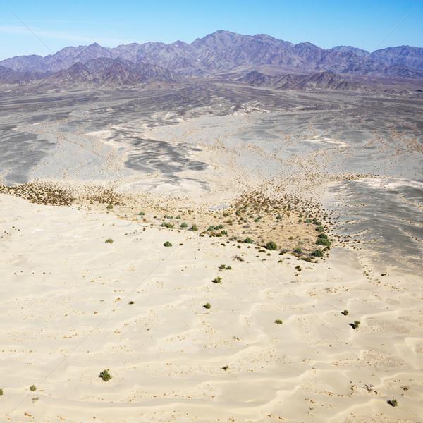 Foto d'archivio: Deserto · montagna · remote · California · montagna