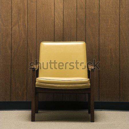 Retro chair. Stock photo © iofoto