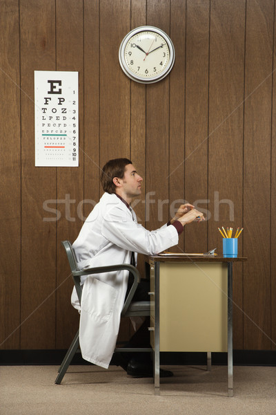 Doctor in office. Stock photo © iofoto