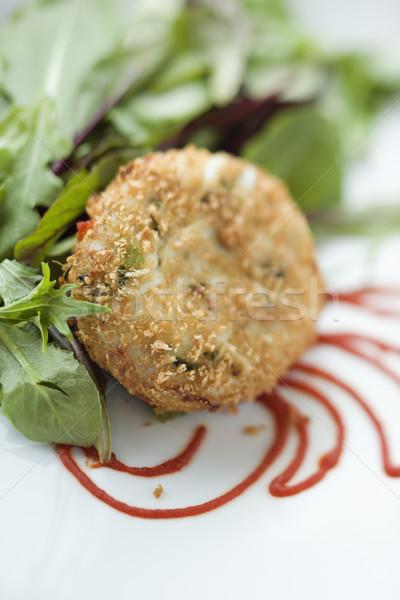 Gourmet meal. Stock photo © iofoto