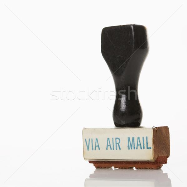 Mail stempel lucht kleur studio Stockfoto © iofoto