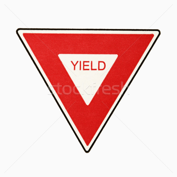 Yield sign. Stock photo © iofoto