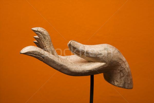 Hand sculpture. Stock photo © iofoto