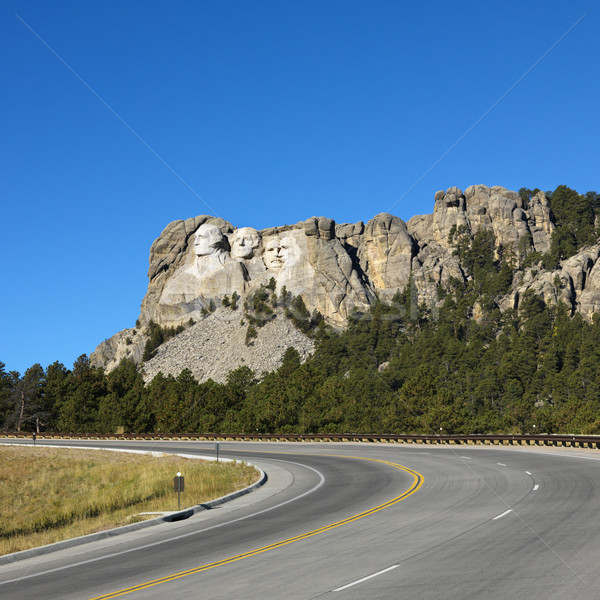 Mount Rushmore Memorial. Stock photo © iofoto