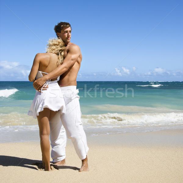 Romantic couple. Stock photo © iofoto