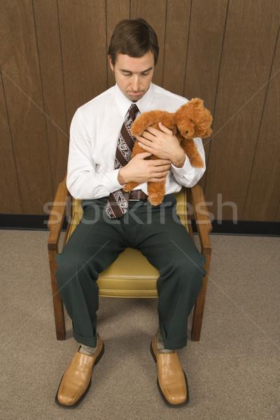 Sad businessman. Stock photo © iofoto