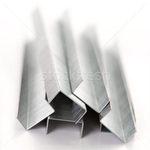 Pile of staples. Stock photo © iofoto