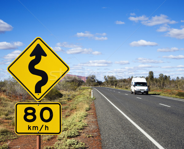 Australia road travel Stock photo © iofoto