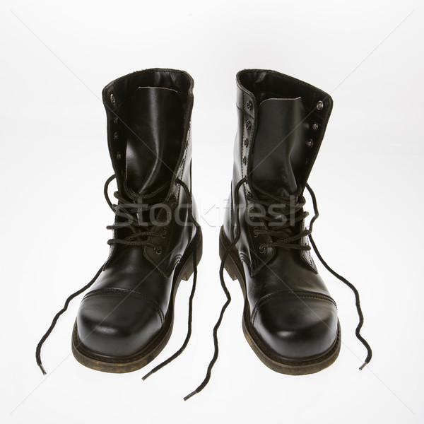 Combat boots. Stock photo © iofoto
