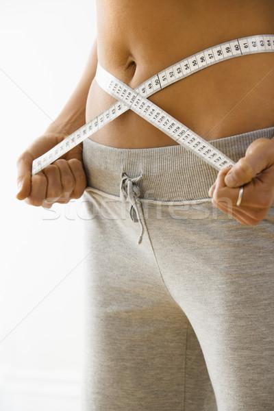 Woman on diet Stock photo © iofoto