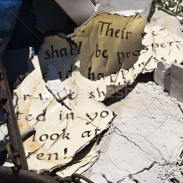 Old weathered Bible pages. Stock photo © iofoto