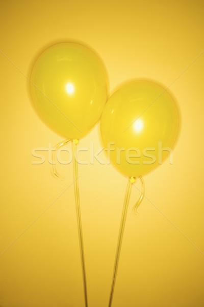 Two yellow balloons. Stock photo © iofoto
