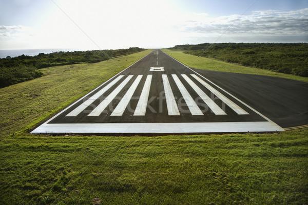 Airplane landing strip. Stock photo © iofoto