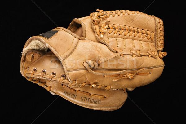 Baseball glove. Stock photo © iofoto