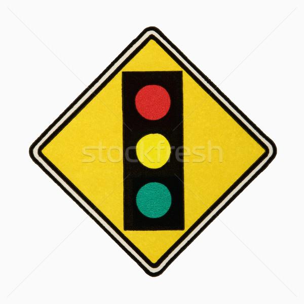 Stoplight sign. Stock photo © iofoto