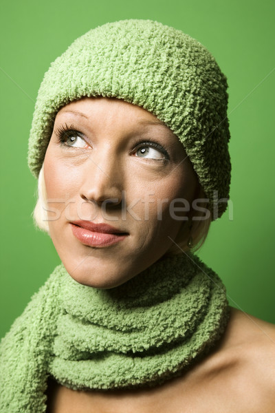 Woman in winter gear. Stock photo © iofoto