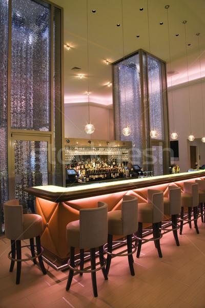 Сток-фото: интерьер · элегантный · коктейль · Бар · пусто · Lounge
