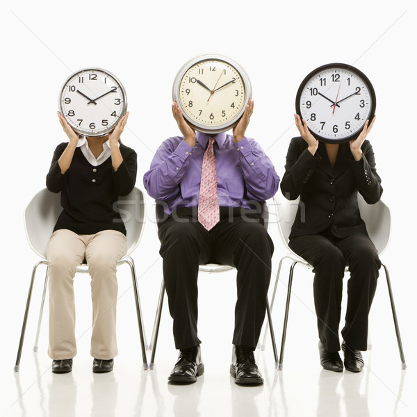 Stock photo: Time business concept.