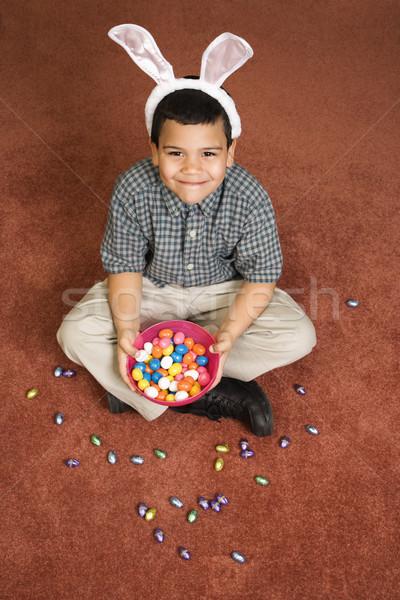 少年 祝う イースター ヒスパニック 着用 バニー ストックフォト © iofoto