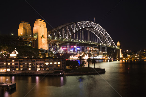 Sydney Harbour Bridge, Australia Stock photo © iofoto