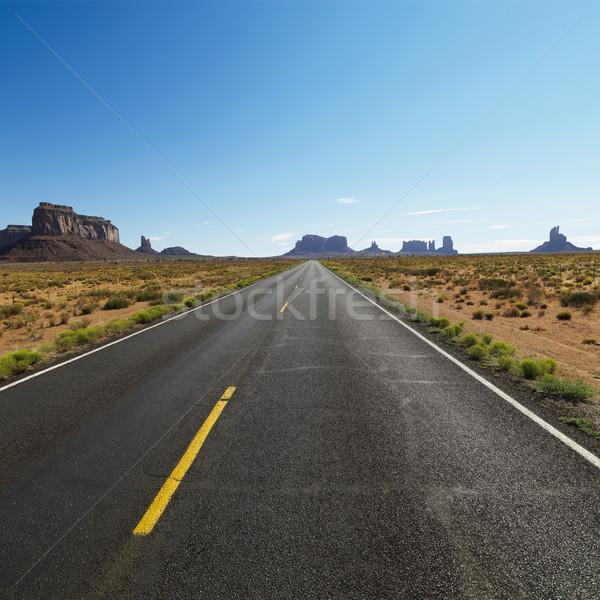 Сток-фото: живописный · пустыне · шоссе · открытых · дороги · пейзаж
