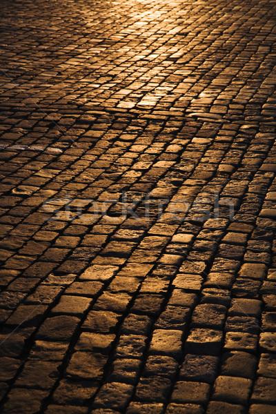 Cobblestone Street Stock photo © iofoto