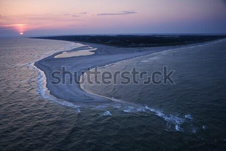 Aerial of beach. Stock photo © iofoto