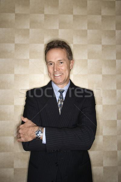 Smiling Businessman Portrait Stock photo © iofoto