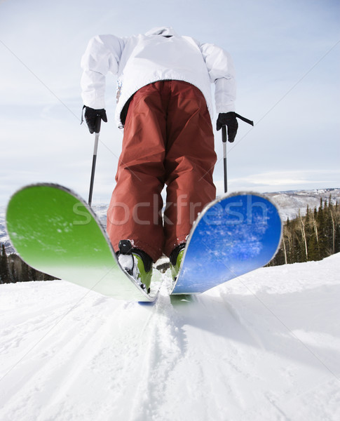 Man on skis. Stock photo © iofoto