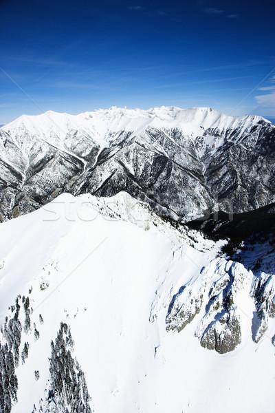 Snowy mountain landscape, Colorado. Stock photo © iofoto