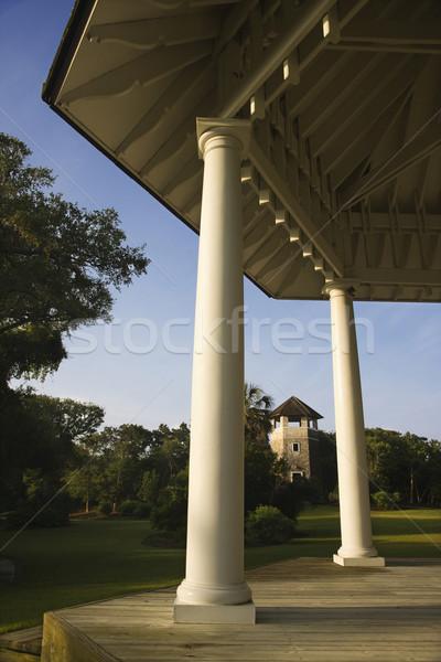 Gazebo in park. Stock photo © iofoto
