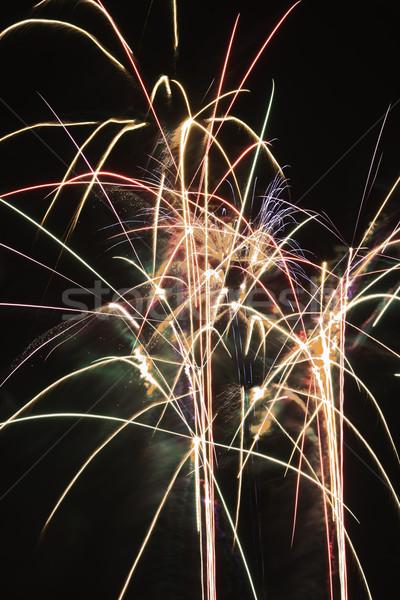 Fireworks exploding. Stock photo © iofoto