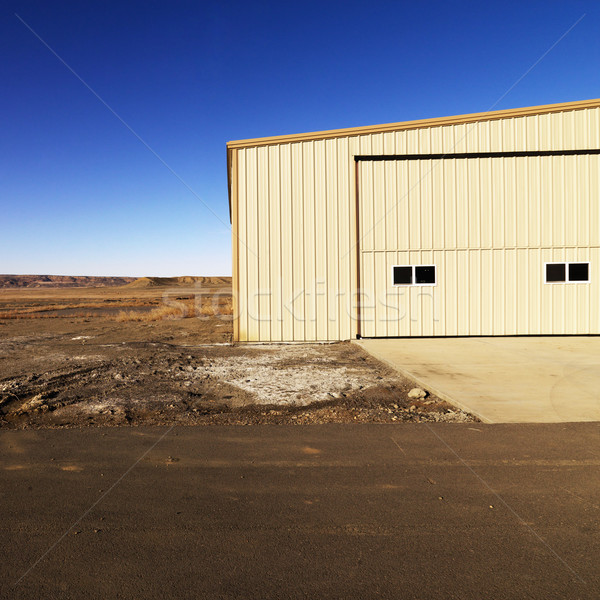 Opslag gebouw Utah industriële landelijk woestijn Stockfoto © iofoto