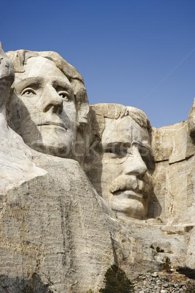 Faces at Mount Rushmore. Stock photo © iofoto