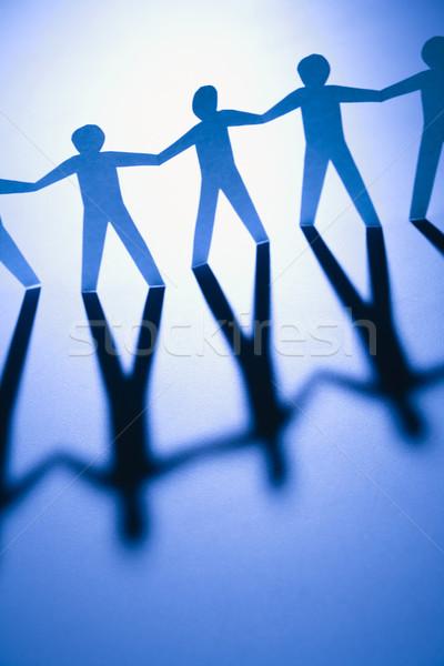Unified people Stock photo © iofoto