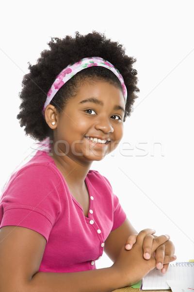 Preteen girl.  Stock photo © iofoto