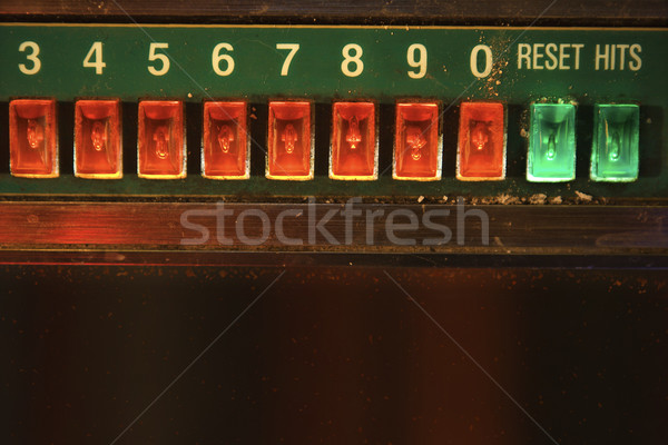 Jukebox play buttons. Stock photo © iofoto