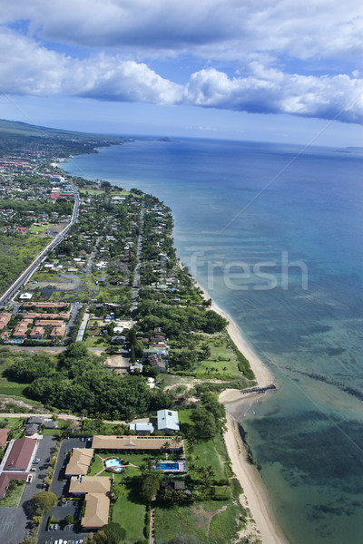 Maui coastline. Stock photo © iofoto