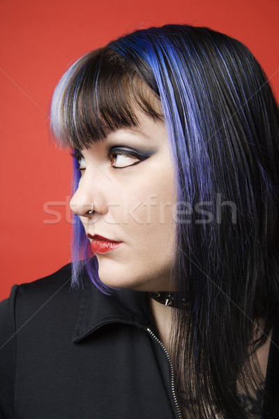 Portrait of young woman. Stock photo © iofoto