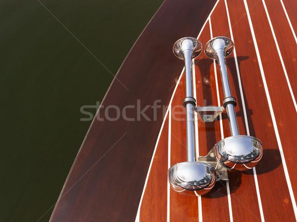 Boat horns. Stock photo © iofoto
