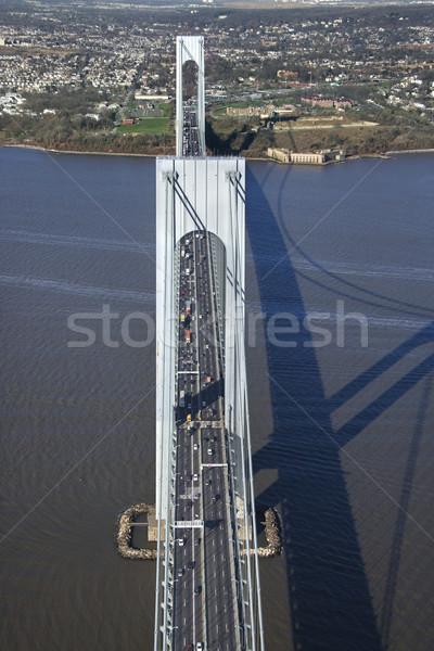 橋 ニューヨーク 眼 旅行 色 ストックフォト © iofoto