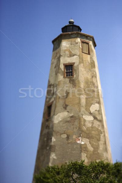 Stock photo: Lighthouse on Bald Head Island.