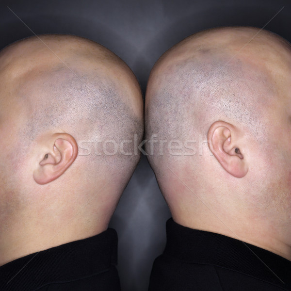 Two bald heads. Stock photo © iofoto