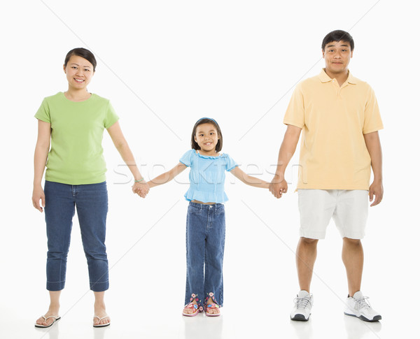 Daughter with parents. Stock photo © iofoto
