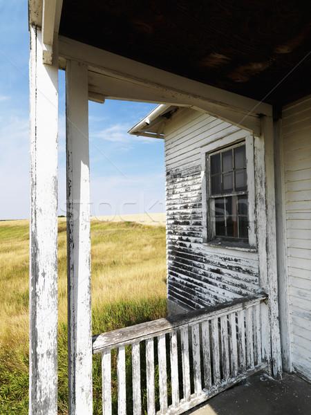 Dilapidated building. Stock photo © iofoto